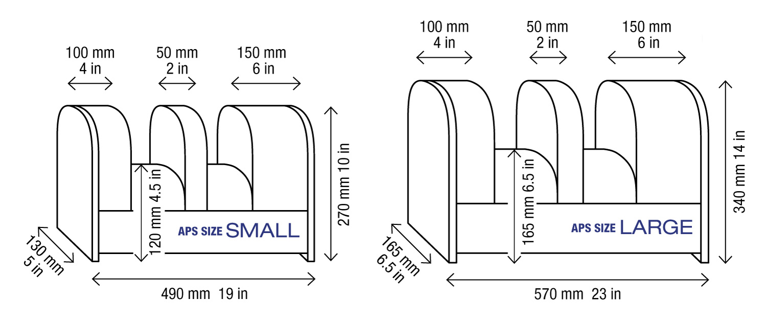 Alternative Position Support Dimensions